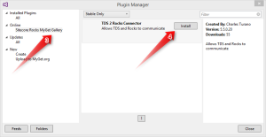Visual Studio Sitecore Rocks Plugin Manager
