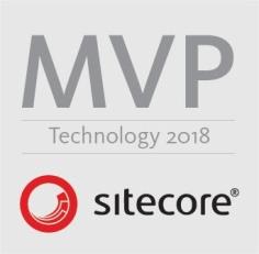 Sitecore MVP logo Technology 2018