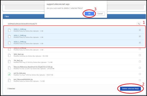 Sitecore Box Delete